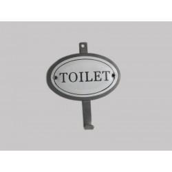 Perchero metal toilet set x...
